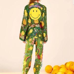 NWT! Sz XS Farm Rio Smiley Kimono Anthro Pride